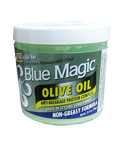 BLUE MAGIC OLIVE OIL
