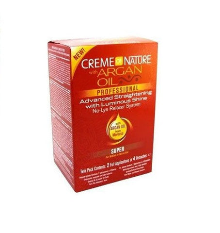 CREMEOFNAT ARGAN KIT SUP 2APP