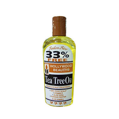 HOLLYWOOD  TEA TREE OIL 8OZ