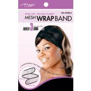 MESH WRAP DELUXE FORM BLACK