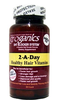 GROGANICS HAIR VITAMINS