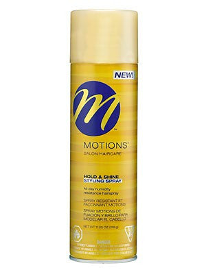 MOTIONS HOLD & SHINE SPRAY