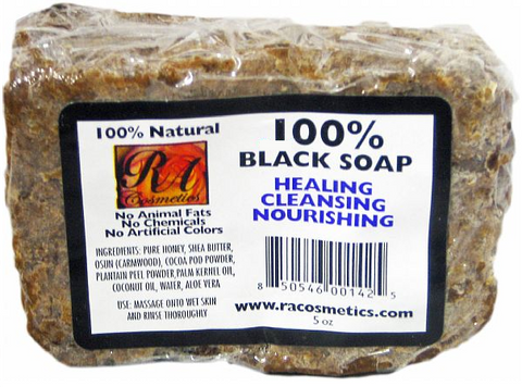 RA COSMETICS BLACK SOAP
