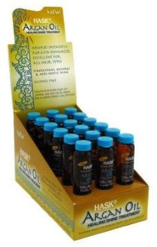 HASK ARGAN TREATMENT 18PC DS