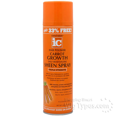 IC CARROT GROWTH SHEEN SPRAY