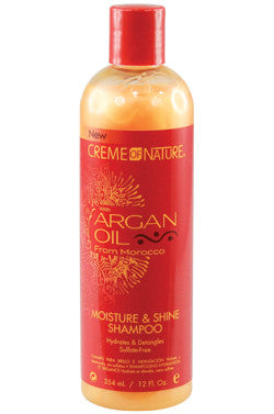 CREME OF NAT ARGAN OIL SHAM 12