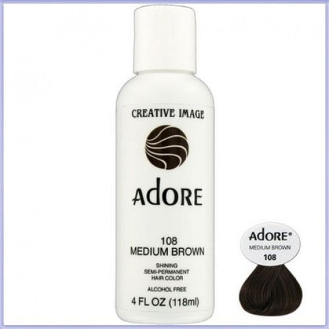 ADORE COLOR MEDIUM BROWN 108