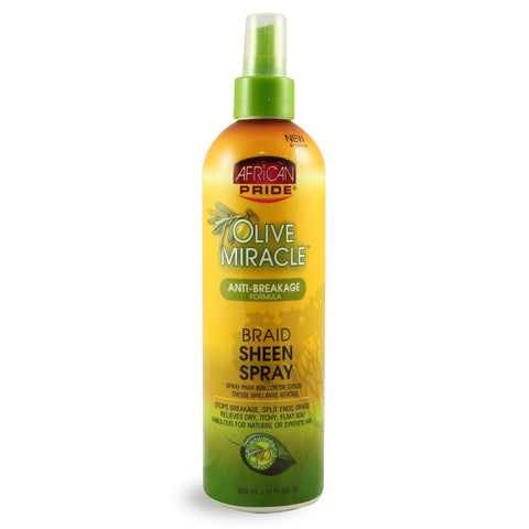 AFRICAN PRI OLIVE BRAID SPRAY