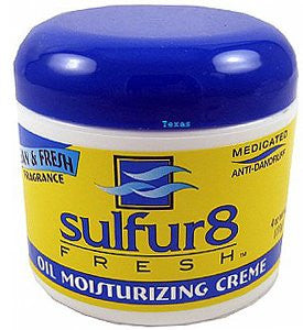SULFUR8 FRESH OIL CREAM 4OZ