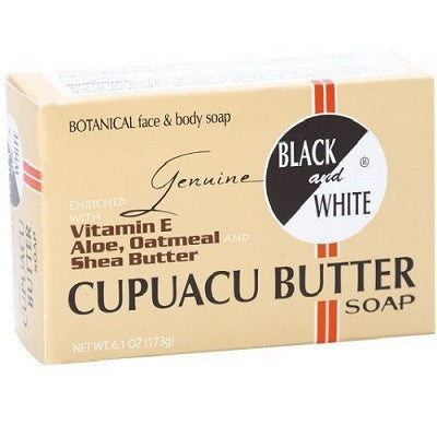BLACK & WHITE CUPUACU SOAP6.1OZ