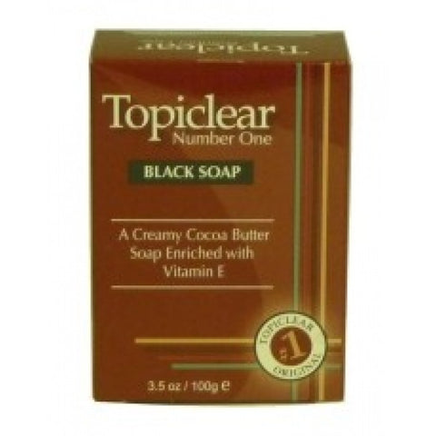 TOPICLEAR BLACK SOAP 3.5OZ