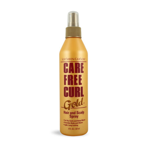 CARE FREE GOLD  HAIR&SCALP 8OZ