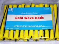 COLDWAVE LONG YELLOW 3/16' 1DZ