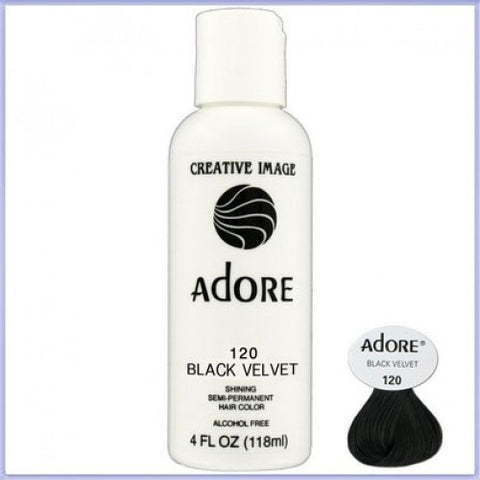 ADORE COLOR BLACK VELVET 120