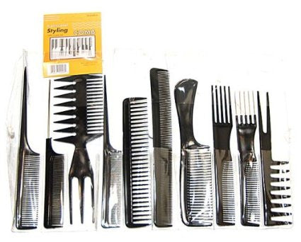 COMB 10 PC BLACK 1DZ