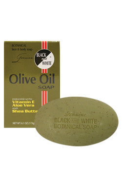 BLACK & WHITE OLIVE OIL 6.10OZ