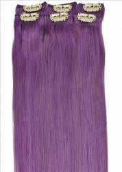 CLIP IN 18''  PURPLE 6PC
