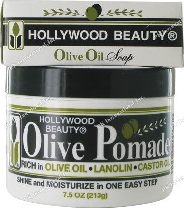 HOLLYWOOD OLIVE POMADE 7.5OZ