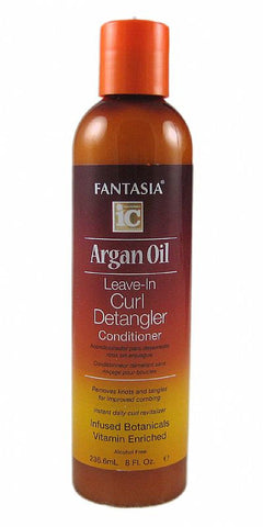 IC ARGAN  CURL DETANGLER 8OZ