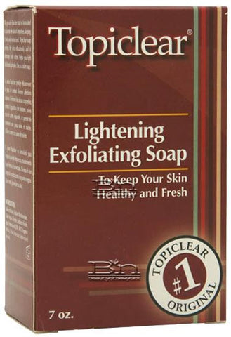TOPICLEAR EXFOLIATING SOAP