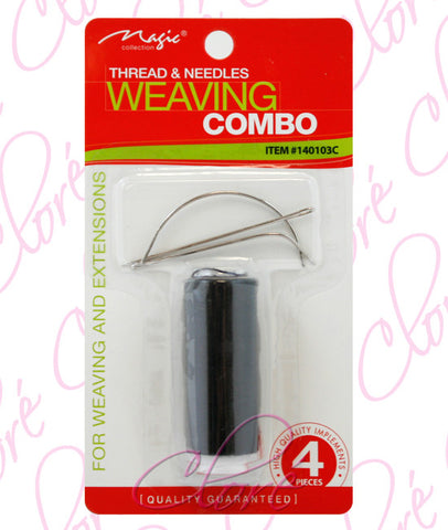 WEAVING THREAD&NEEDLE COMBO DZ