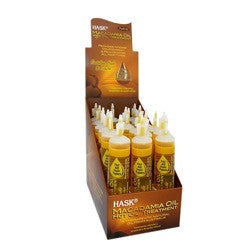 HASK MACADAMIA HOT OIL 18PC DS