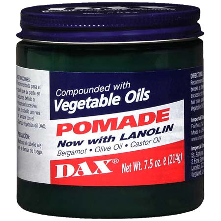 DAX VEGETABLE OILS POMADE 7.5O