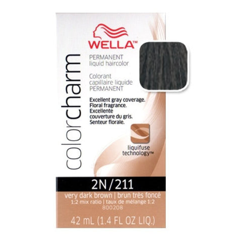 WELLA C/C 211 VERY DARK BROWN