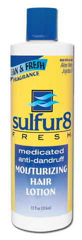 SULFUR8 FRESH HAIR LOTION 12OZ