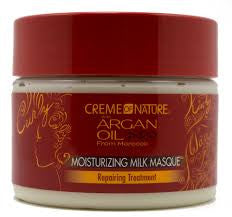 CREMEOFNAT ARGAN CURLS MASQUE