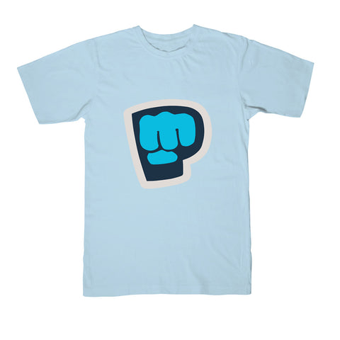 Brofist Basics - Men's Tee - Light Blue