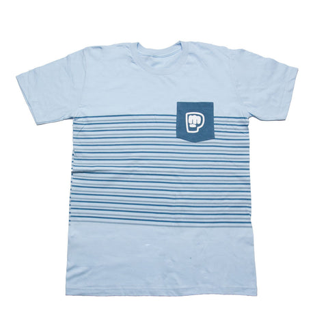 Striped Pocket Men's Tee