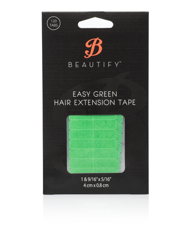 Beautify Easy Green Extension Tape Tabs