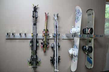 Wall Mount Snowboard Rack