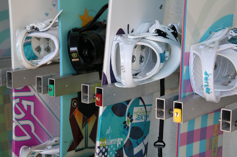 Wall Rack- Snowboards Only