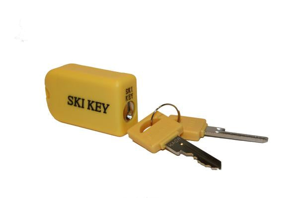 Ski & Snowboard Lock - Unique Key