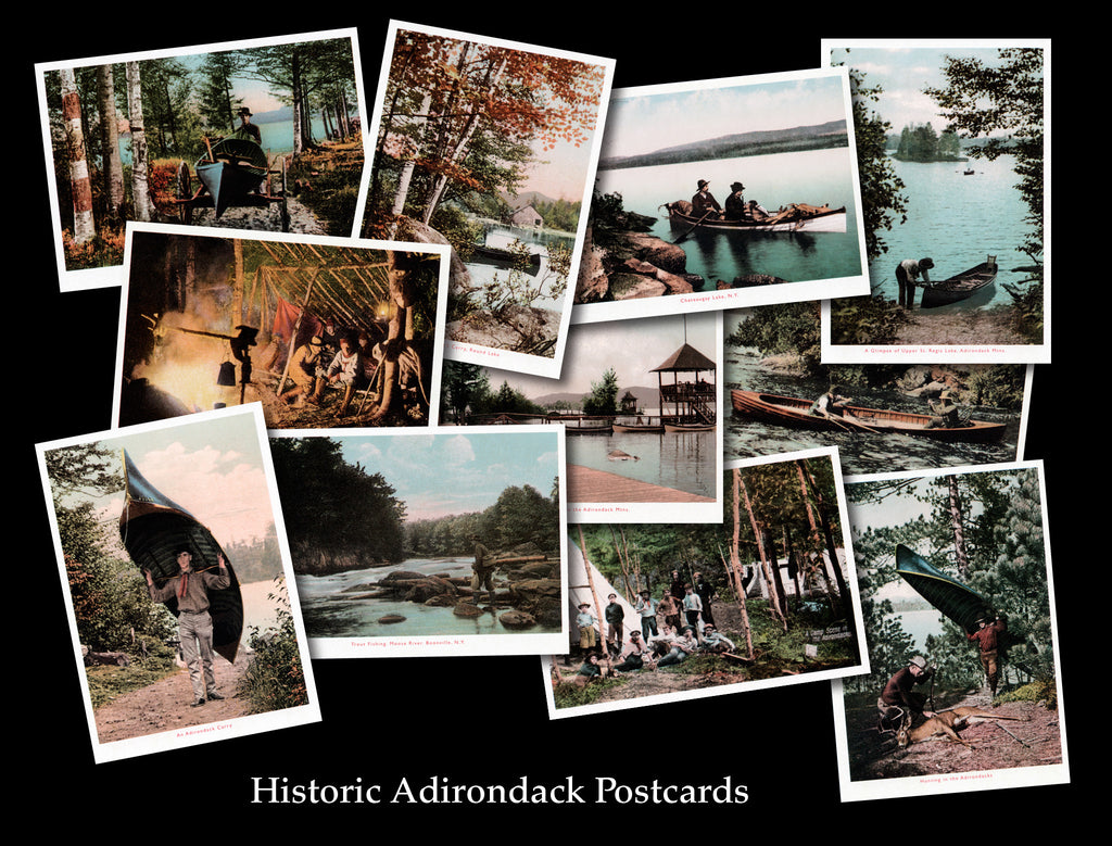 Historic Adirondack Postcards