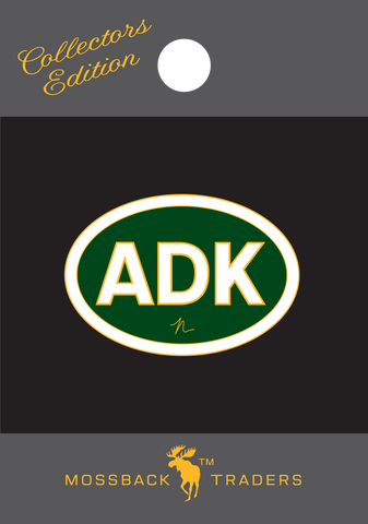 ADK Oval Collector's Pin – Green