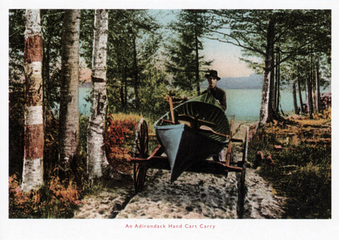Adirondack Hand Carry Postcard