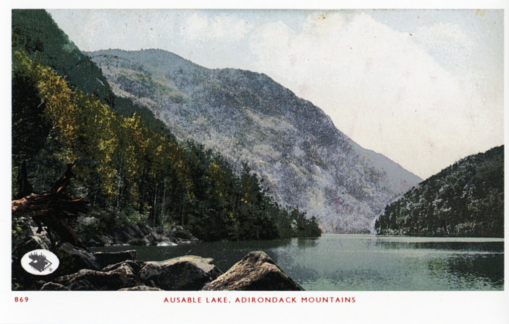Ausable Lake Postcard