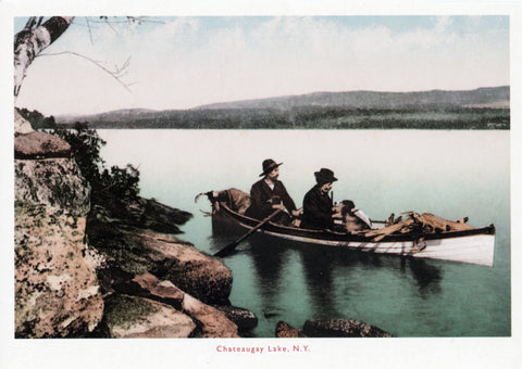 Chateaugay Lake, N.Y. Postcard