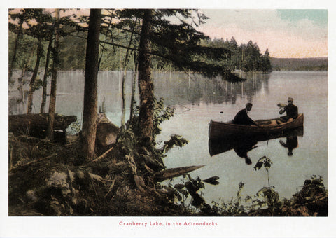 Cranberry Lake Postcard
