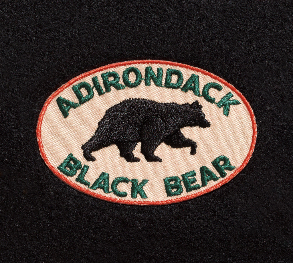 Black Bear Patch – Tan