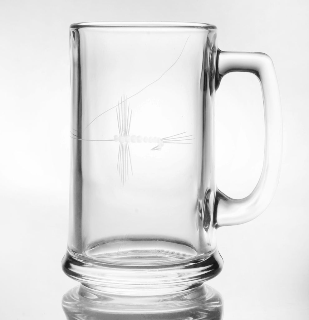 Fly Fishing Beer Mug