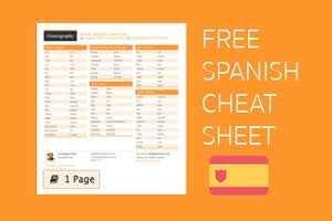 Download Free Spanish Cheatsheet From Cheatography - PDF