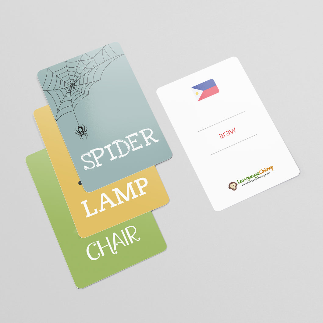 Filipino Flashcard Set - Learn Vocabulary