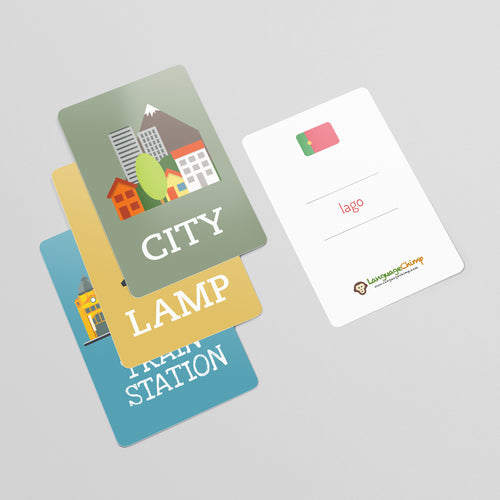 Portuguese Flashcard Set - Learn Vocabulary