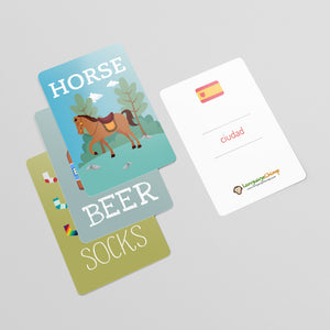 Spanish Flashcard Set - Learn Vocabulary