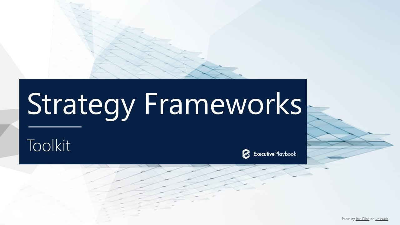 Strategic Frameworks