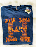 Hustle Town Legends Unisex tee